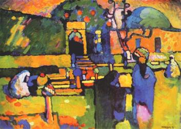 Kandinsky (Vassily) Arab Cemetery (1909)