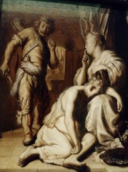 zRembrandt, Samson and Delilah, 1626-30