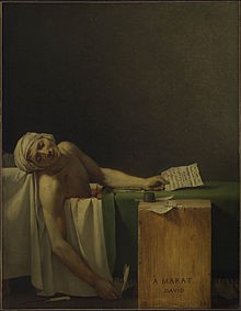 David (Jacques-Louis ), The Death of Marat, 1793