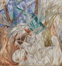 Guggenheim Mikhail Larionov, Glass, 1912